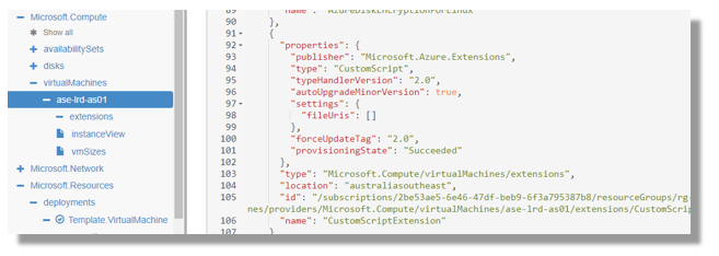 Azure Custom Script Extensions, Software Deployment and