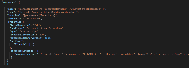 Azure Custom Script Extensions, Software Deployment and