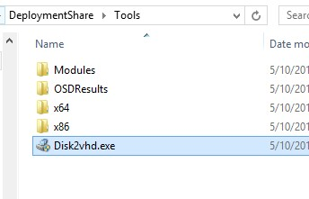 MDT Backups with Virtual (VHD) Disk format | Laurie Rhodes' Info