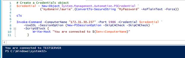 Enabling Windows Remote Management (WinRM) with HTTPS
