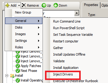 How to detect Lenovo models and drivers with Task Sequences