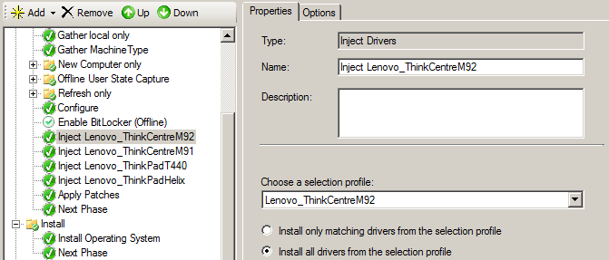 How to detect Lenovo models and drivers with Task Sequences | Laurie